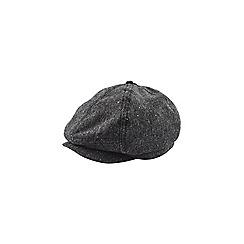 Burton - Grey nepp baker boy hat