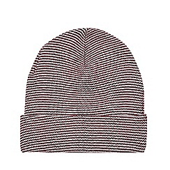 Burton - Red and white feeder striped hat ea4090eb88f