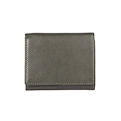 Burton - Khaki trifold leather wallet