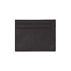 Burton - Black leather card holder