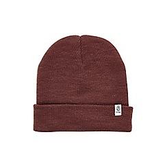 Burton - Burgundy beanie hat