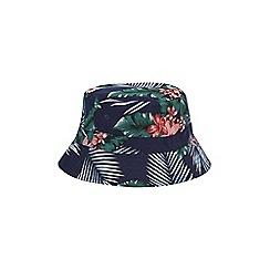 Burton - Navy floral bucket hat