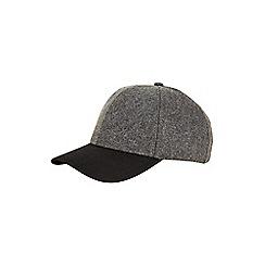 Burton - Grey melton cap
