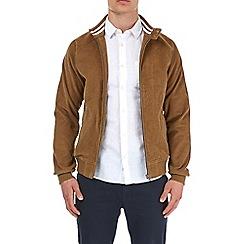 Burton - Tan cord harrington jacket