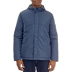 Burton - Blue zip through lightweight padded jacket
