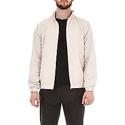 Burton - Pink taupe funnel neck lightweight jacket