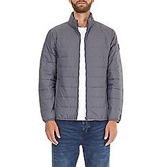 Burton - Grey willow lightweight puffer jacket