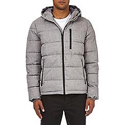 Burton - Grey aspen mid puffer jacket