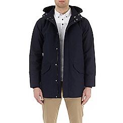 Burton - Navy marl parka jacket