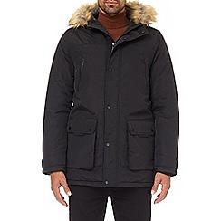 Burton - Black oak parka jacket