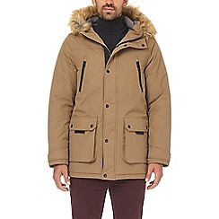 Burton - Tan oak parka jacket
