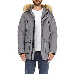 Burton - Grey oak parka jacket