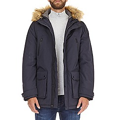 Burton - Navy oak parka jacket