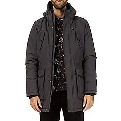 Burton - Grey smart parka jacket