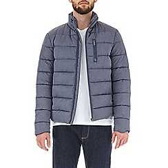 Burton - Deep blue maxi padded jacket