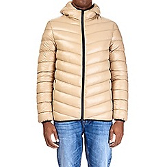 Burton - Stone glacier quilted hooded jacket