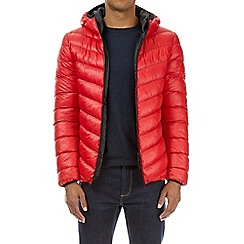 Burton - Red glacier quilted jacket