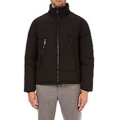 Burton - Black cedar funnel neck padded jacket