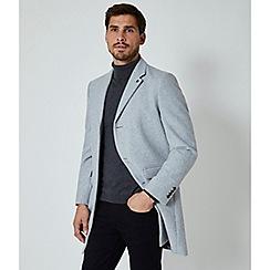 Burton - Light grey wool coat