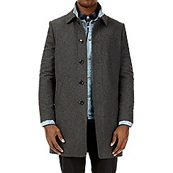 Burton - Grey wool car coat