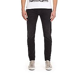 Burton - Black tapered fit jeans