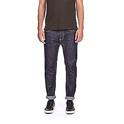 Burton - Raw indigo wash tapered leg jeans