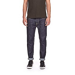 Burton - Big and tall tapered raw jeans