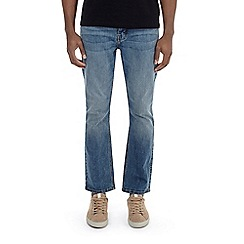 Burton - Light wash bootcut fit jeans