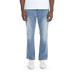 Burton - Light blue jude bootcut fit jeans