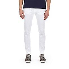 Burton - White skinny fit jeans