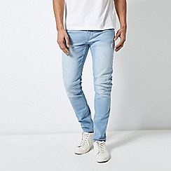 Burton - Ripped Light Wash Skinny Fit Jeans