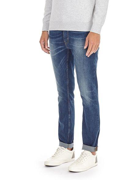 Blue wash Burton fit skinny jeans SwZxW6nq