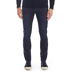 Burton - Blue over dye skinny fit jeans