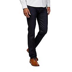 Burton - Tall indigo stretch skinny fit raw jeans