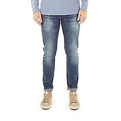 Burton - Mid blue skinny fit jeans