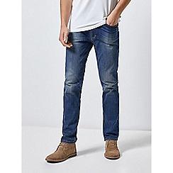 Burton - Mid Blue Slim Fit Jeans