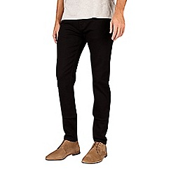 Burton - Black stretch tapered fit jeans