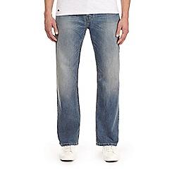 Burton - Light wash wyatt relaxed fit jeans