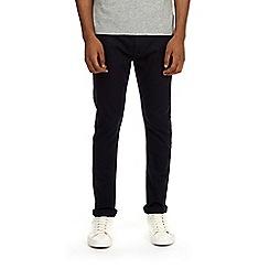 Burton - Navy blue five pocket super skinny fit jeans