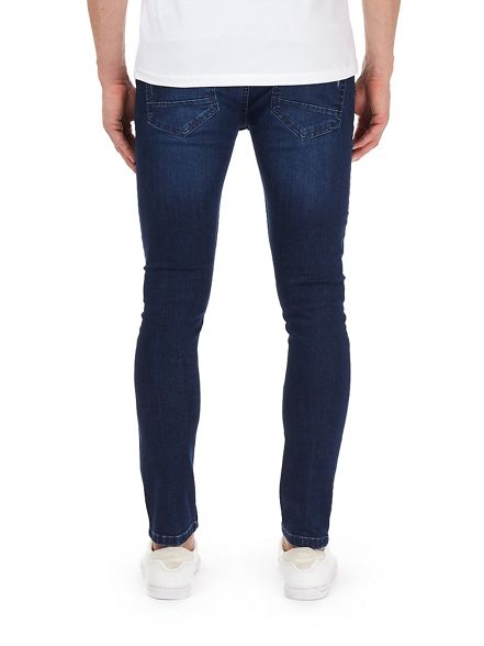 skinny blue fit super jeans ripped Mid Burton 4wnqxTRT