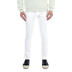 Burton - White super skinny fit jeans