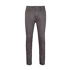 Burton - Grey five pocket super skinny jeans