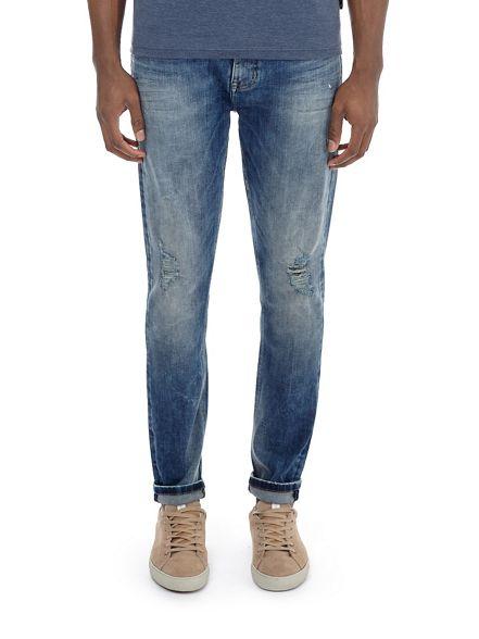 fit blue skinny jeans Mid Burton WqRYTwpFR