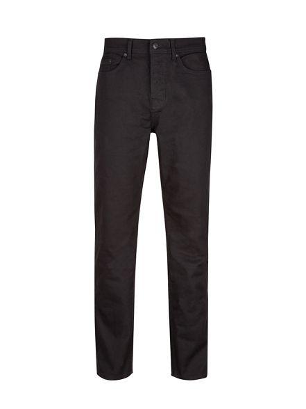 jeans straight Burton fit stretch Black wTAxIxqO1