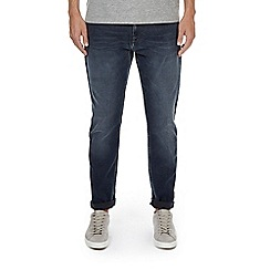 Burton - Blue and grey wash stretch tapered leg jeans