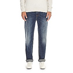 Burton - Blue vintage straight fit jeans