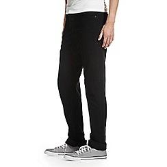 Burton - Tall black straight jeans