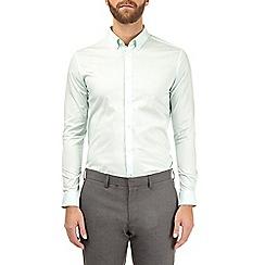 Burton - Mint skinny fit stretch shirt
