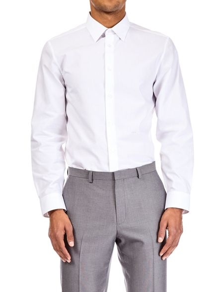 Burton pack iron shirt tailored fit easy 2 white fr5wZHxfq