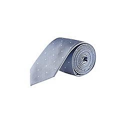 Burton - Light blue spotted tie
